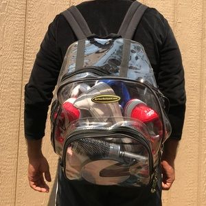Other - Clear backpack